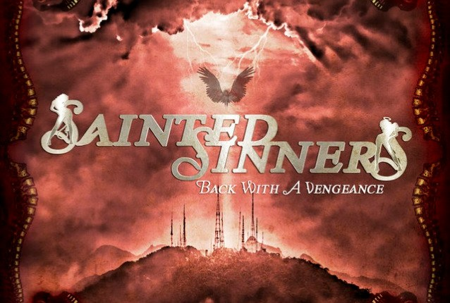 SAINTED SINNERS Feat. Former ACCEPT Singer DAVID REECE: 'Burnin' The Candle' Video