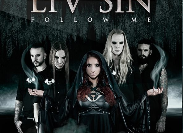 Former SISTER SIN Singer LIV SIN Releases 'The Fall' Video