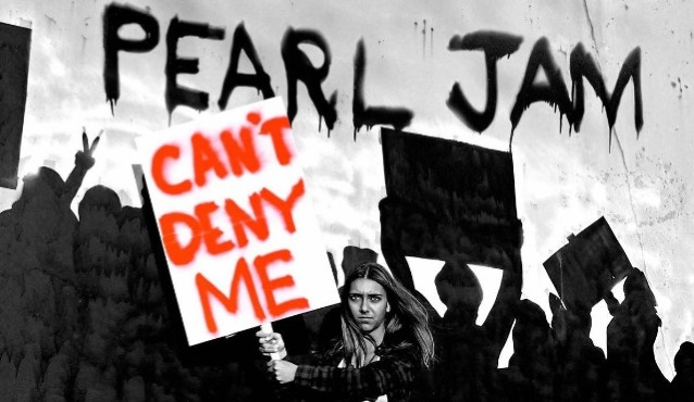 PEARL JAM Performs 'Can't Deny Me' Live For First Time (Video)