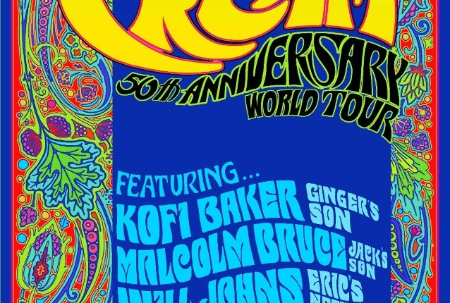 'The Music Of Cream – 50th Anniversary' Feat. KOFI BAKER, MALCOLM BRUCE And WILL JOHNS: North American Tour Announced