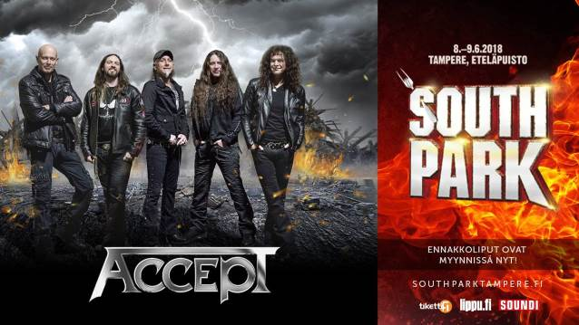 Watch ACCEPT Perform At Finland's SOUTH PARK Festival