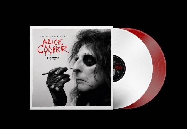 Listen To ALICE COOPER Performing 'Poison' From 'A Paranormal Evening At The Olympia Paris'
