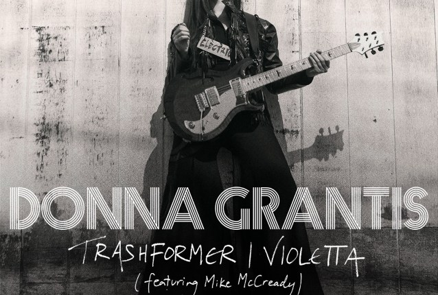 DONNA GRANTIS Releases New Music In Collaboration With PEARL JAM Guitarist MIKE MCCREADY