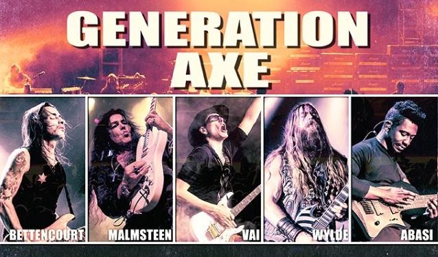 Watch YNGWIE MALMSTEEN Sing DEEP PURPLE's 'Burn' At Bethlehem Stop Of 'Generation Axe' Tour