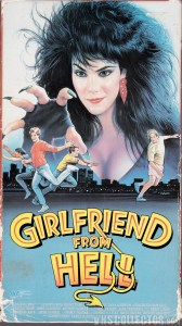 Girlfriend From Hell VHS Box