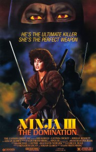 Ninja III:The Domination Theatrical Poster