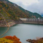 "It exits the Kyoto city of hustle and bustle of the excitement of autumn leaves and the thrill in the ""Hase dam"""