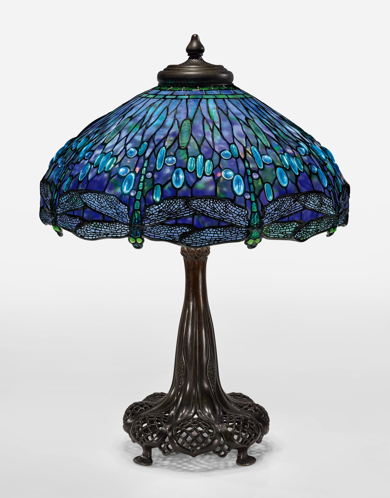 Tiffany Studios An Important Dragonfly Table Lamp Dreaming In Glass Masterworks By Tiffany Studios 20th Century Design Sotheby S