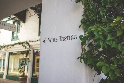 This way to wine tasting