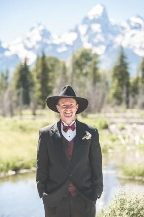 Bramblett Wedding - the groom
