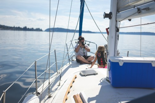 Sailing Puget Sound 30
