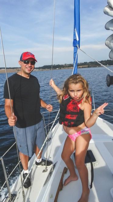 Sailing Puget Sound 54
