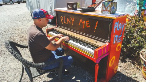 When in Sausalito, play!