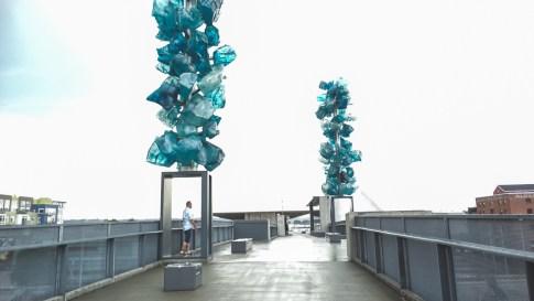 On the bridge of glass