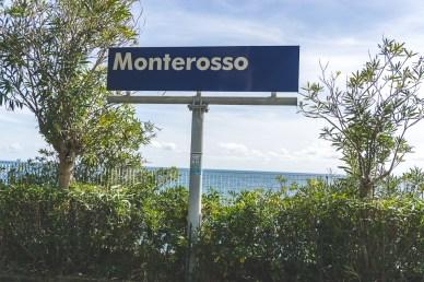 Monterosso train station, along the Cinque Terre