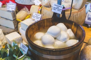 Mozzarella cheese in Lucerne