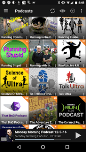 Podcast subscriptions example