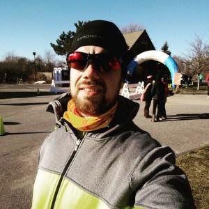 Winter Warlock pre-race photo