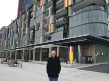 New buildings between king St Wharf and Barangaroo