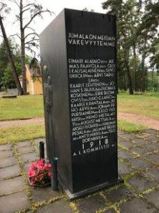 Vapaussodan muistomerkki, Iitti.