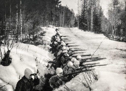 Sodan käänne maaliskuussa 1918, valkoisten asemat maantiellä