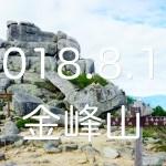 【金峰山|奥秩父】日帰りソロ登山