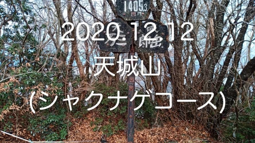 初冬の「天城山」。万二郎岳、万三郎岳を経由するシャクナゲコースに行ってきました。