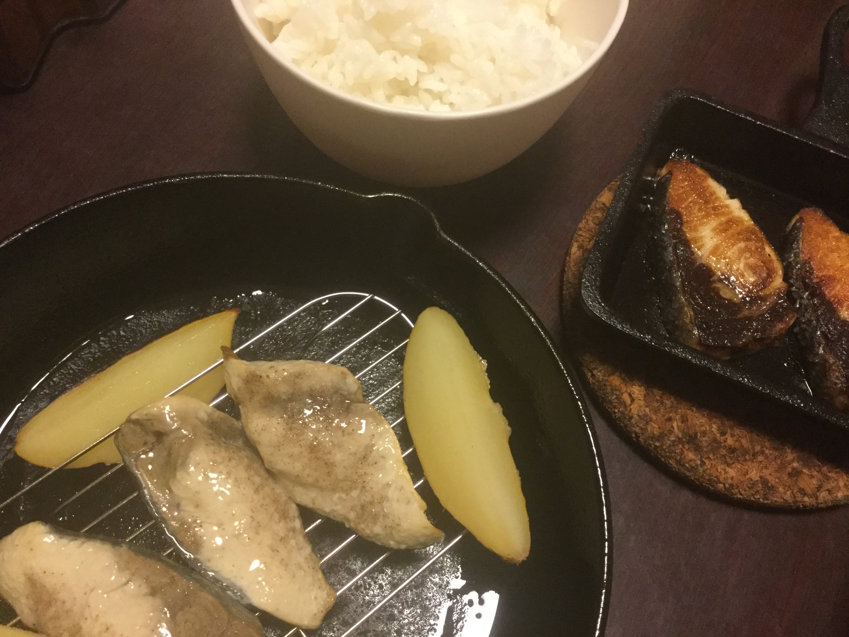 スキレットで焼き魚。美味しくする秘訣?