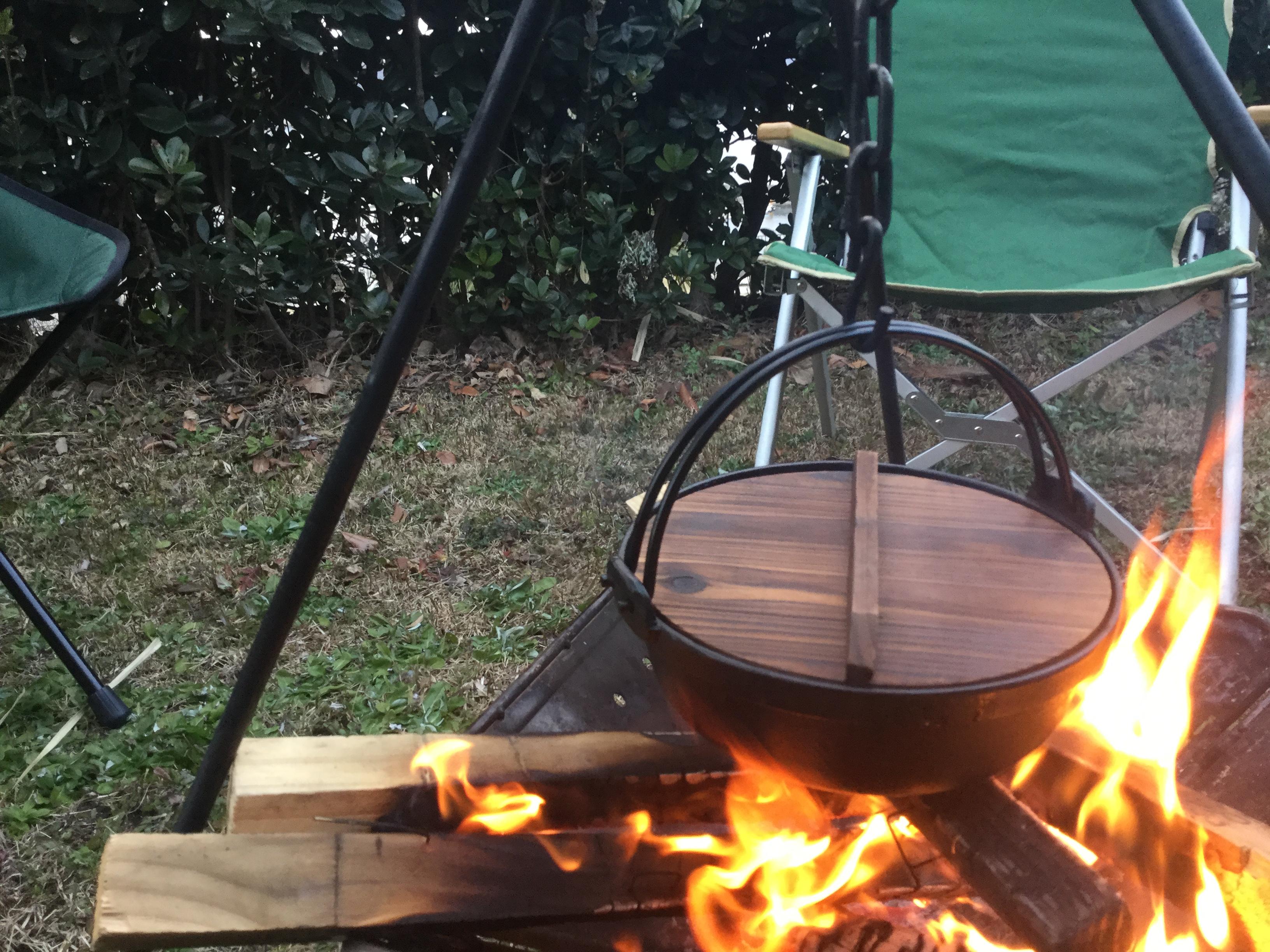 スノピの焚火台と調理セット