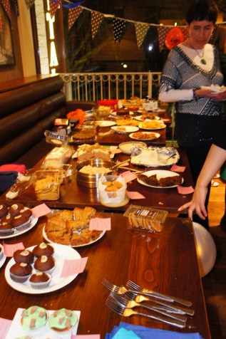 SO, SO much cake!!