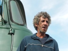 Cabo Polonio. L'autista dell'autocarro.