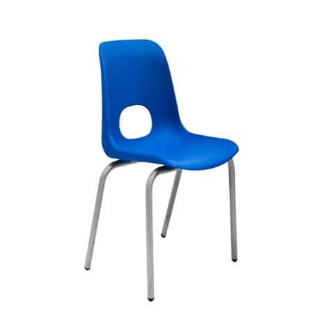 Chaise Teddy Grand modèle - couleur bleu - Sotufab Meubles
