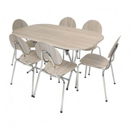 table pliante ovale 146 x 94 cm pvc