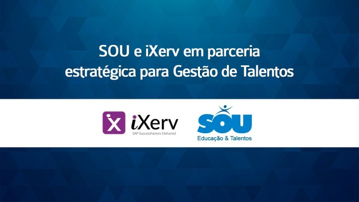 SOU e iXerv em parceria estratégica para Gestão de Talentos