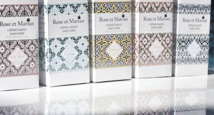 Crèmes mains parfumées ROSE et MARIUS