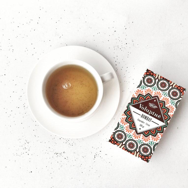 Nouvelle gamme de thés bio VOLUPTHE