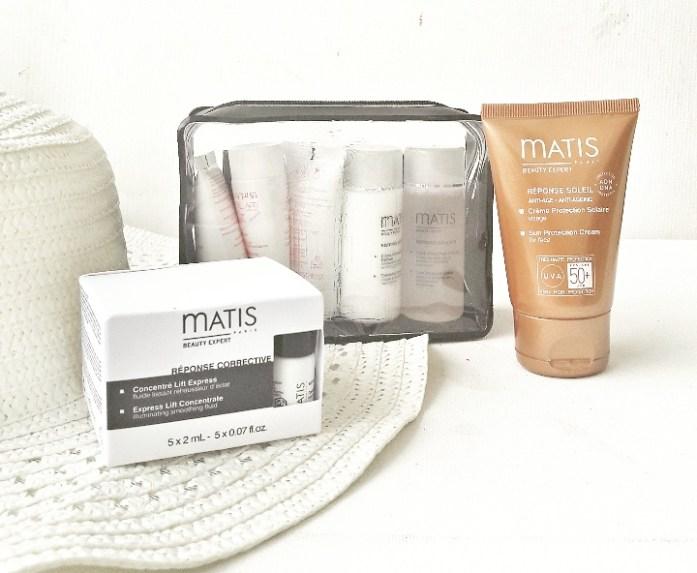 Sélection Vacances de produits cosmétiques Matis