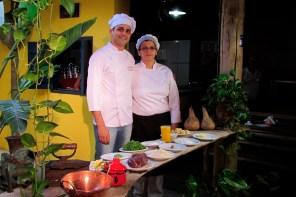 Participação do chef Leonardo Cabral no programa Viação Cipó - SBT