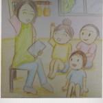 保育士二次試験絵画の予想問題。朝の会