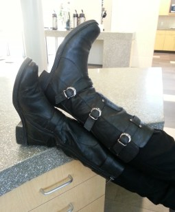 Boots with attitude