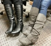 Dueling boots