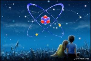 Atome, Je Suis, j'émane de la Pensée Créatrice. Mon existence a commencé dans l'émergence du ''non créé'' : Je Suis sa Pensée.