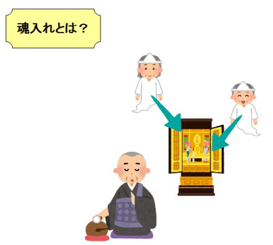仏壇 魂入れ しない 意味