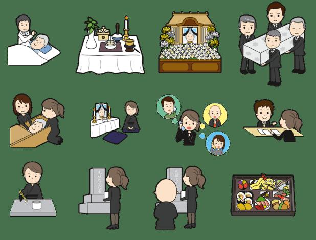 家族葬と一般葬の違い