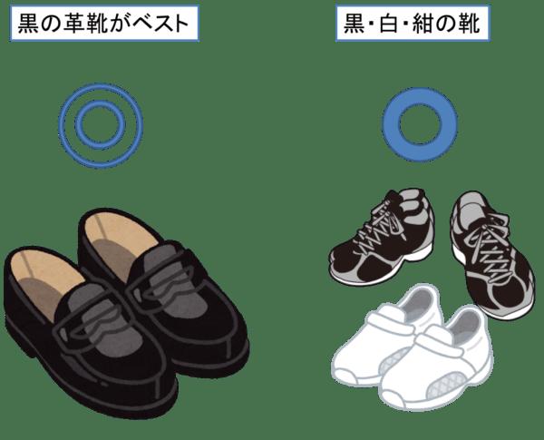 葬式の靴 子供の場合
