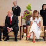 トランプ大統領のエリザベス女王陛下2世に対する態度が、こうも違うのか!?