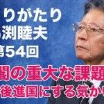 「ひとりがたり馬渕睦夫」#54 菅内閣の重大な課題 日本を後進国にする政策と意味の無い構造改革