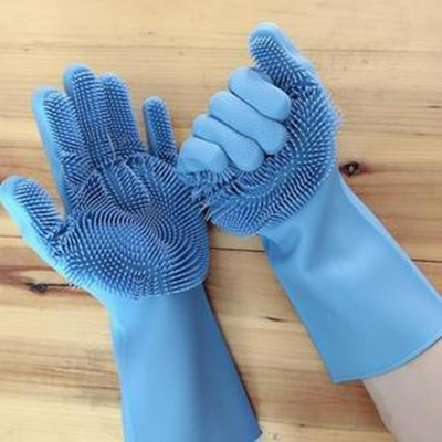 Multipurpose Silicon hand gloves 1 pair