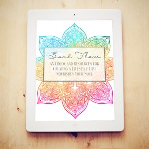 "FREE Download ""Soul Flow: Creating a Lifestyle That Nourishes Your Soul"""
