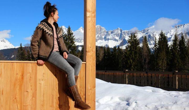 Im Almdorf Reiteralm bin ich zu Hause hoch in den Bergen
